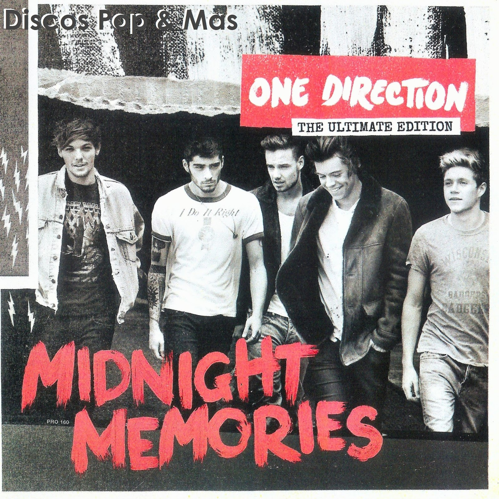 Discos Pop & Mas: One Direction - Midnight Memories: The Ultimate Edition