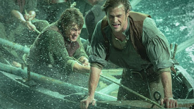 Chris Hemsworth as Owen Chase, Fights Sea Storm, Directed by Ron Howard