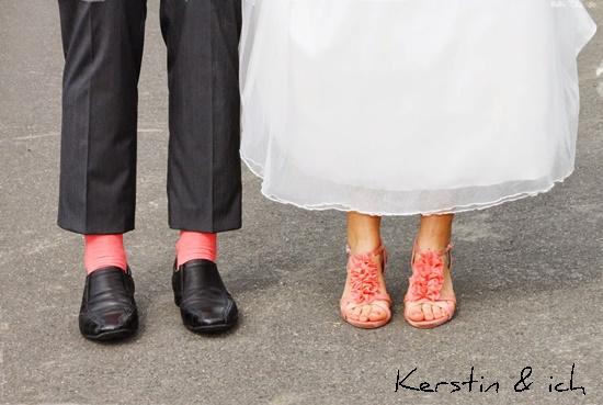 Schuhe bunt Hochzeit
