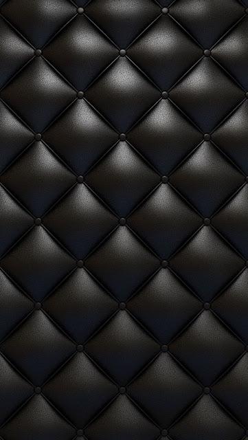 cuoio nero, cuscino,