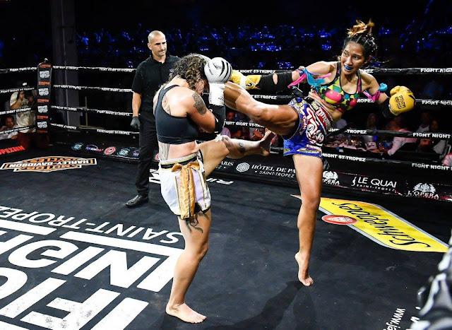 Tania Duarte Chomanee Thailand Brazil France St Tropez muay thai boxing