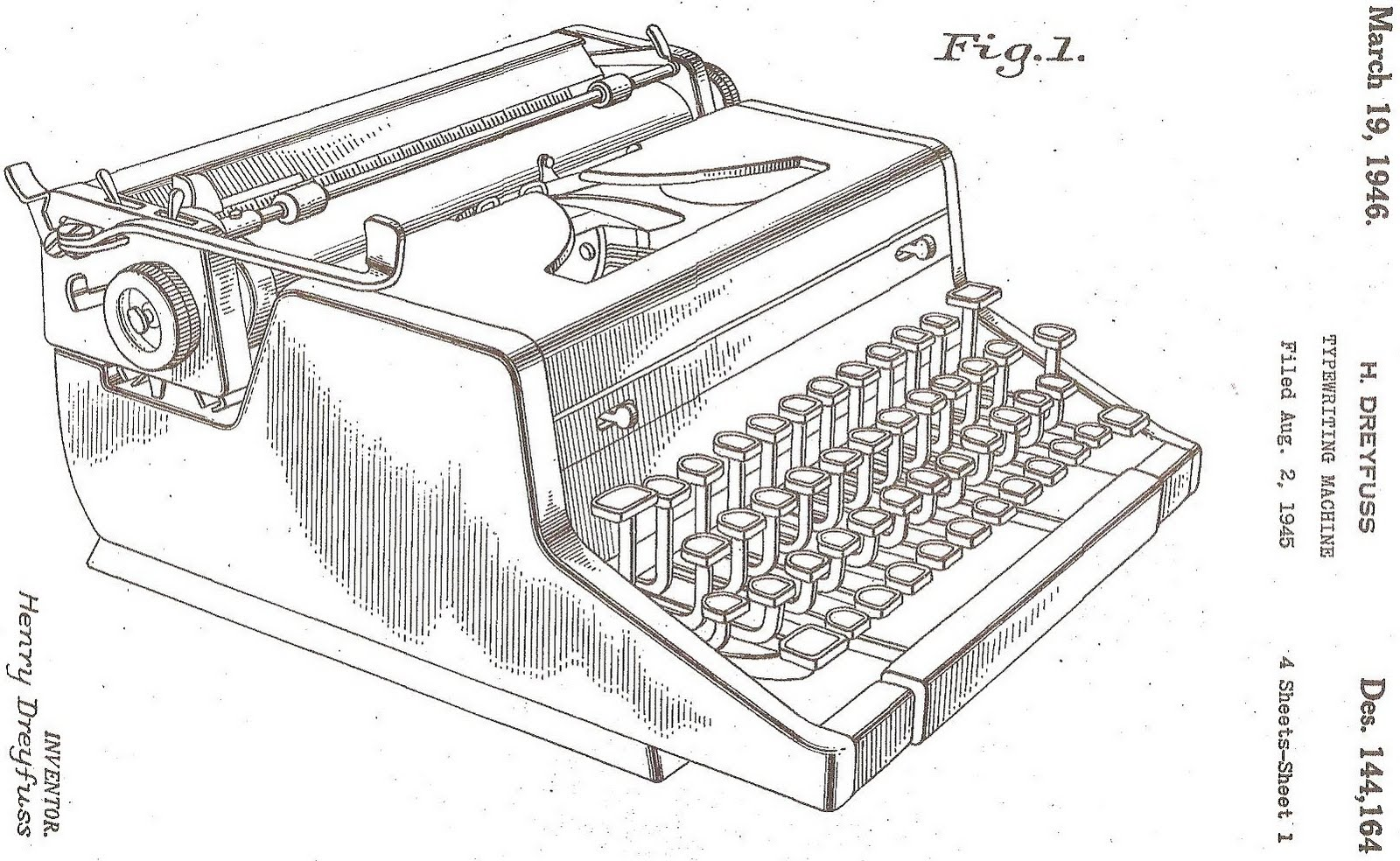 Oztypewriter On This Day In Typewriter History Lxxiv