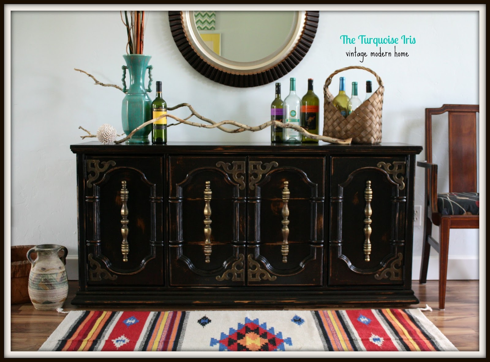 Perfect The Turquoise Iris ~ Furniture & Art: Vintage Triple Dresser in  MS03
