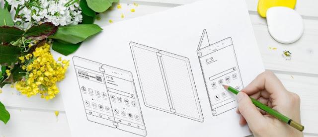 هاتف Huawei جديد بشاشة خرافية قابلة للطي مثل الكتاب