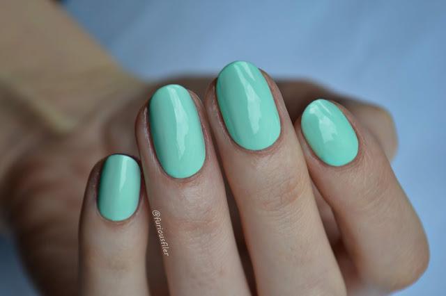 prism polish merula swatch pastel green furiousfiler