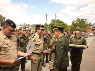 Comandante do 9° BPM é Homenageado Pelo Exército Brasileiro