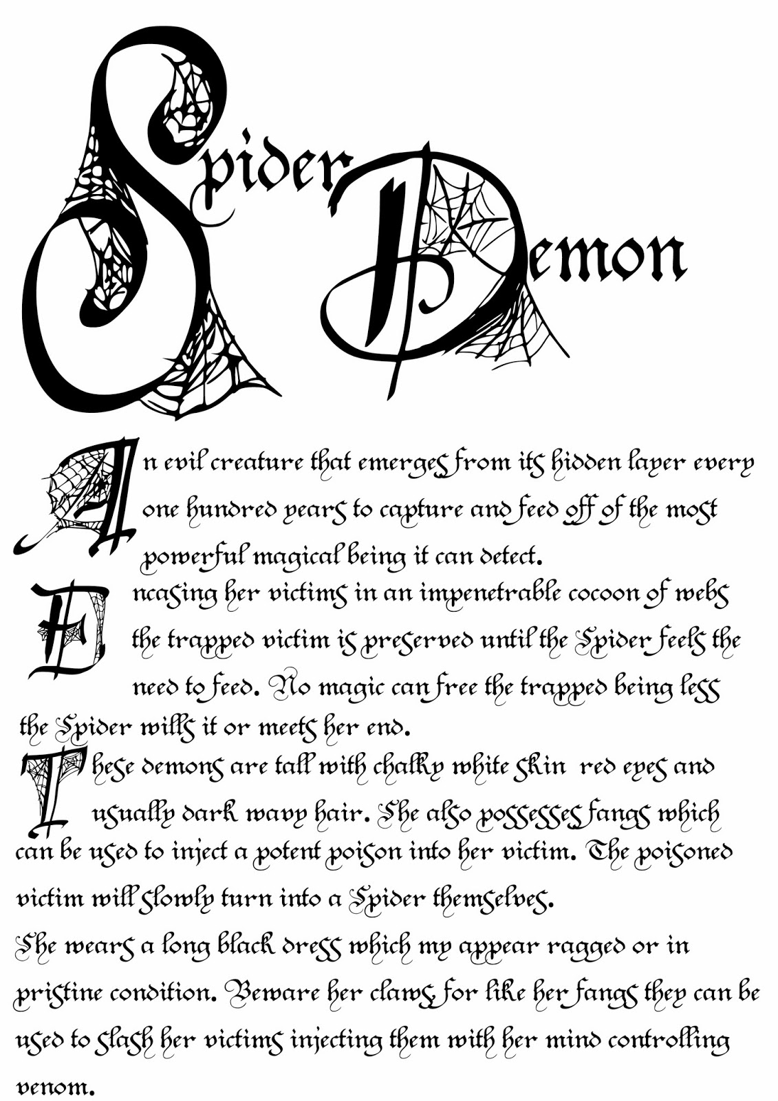 Book Of Shadows Pages 10 14 13