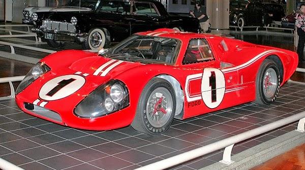 """Ford GT40 el """"Ferrari-killer"""""""