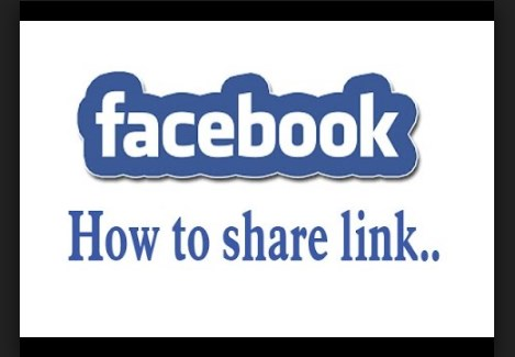 How to share a link on facebook