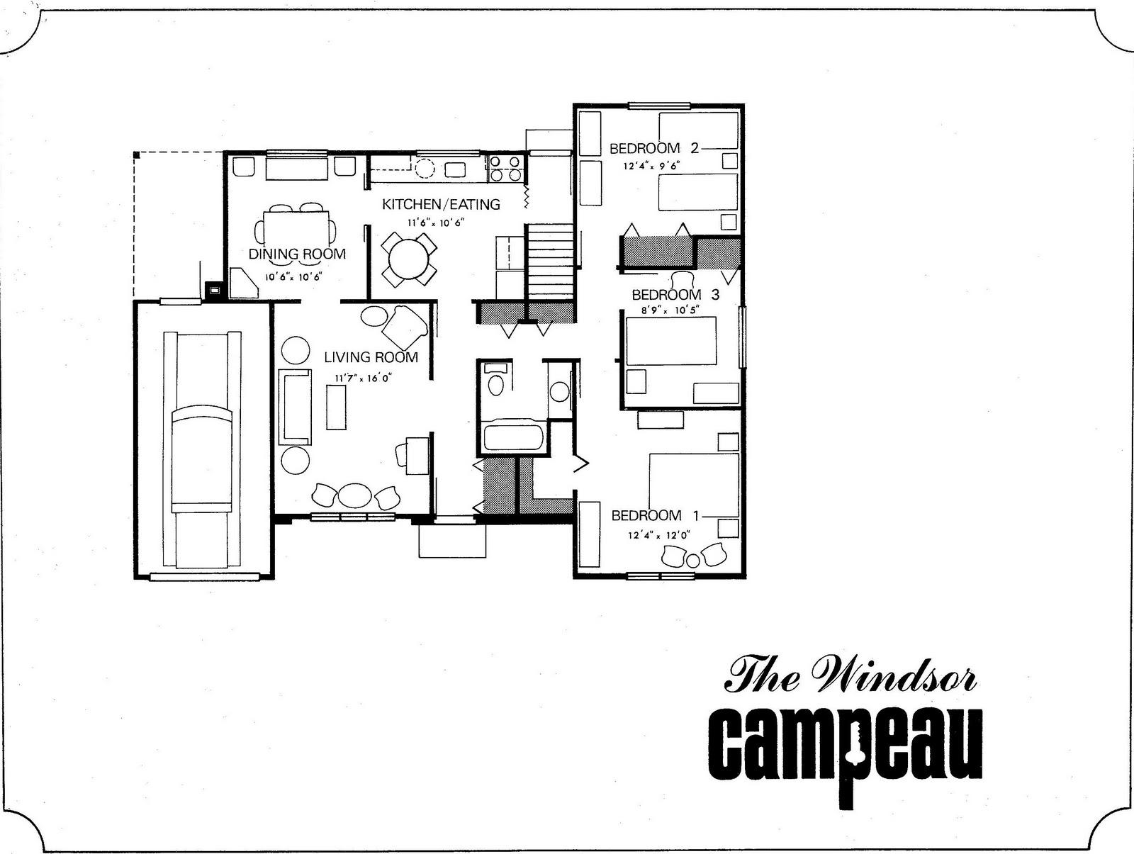 Backsplit Floor Plans Mid Century Modern And 1970s Era Ottawa Neighbourhood