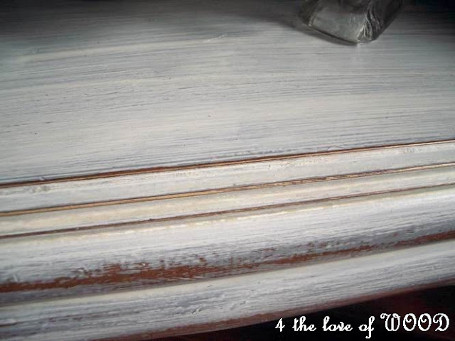 4 The Love Of Wood: WHITE WASHED DOVE GREY