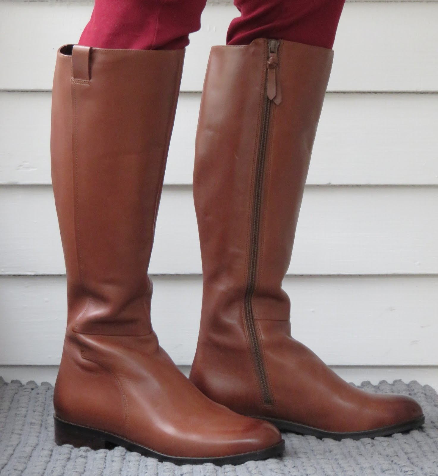 Cole Haan Katrina. Welcome to my last skinny calf boots 2017 review! This  boot was flagged at Nordstrom as narrow calf by some reviewers, and because  the ...