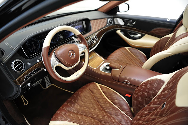 maybach mercedes interior