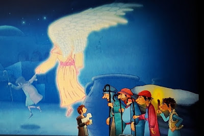 On Angel Wings Children's Christmas Nativity DVD Review