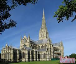 Salisbury Cathedral from North EAst