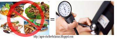 Pantangan Makanan Darah Tinggi
