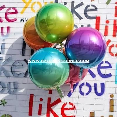 Balon Foil Orbz Ombre (MURAH)