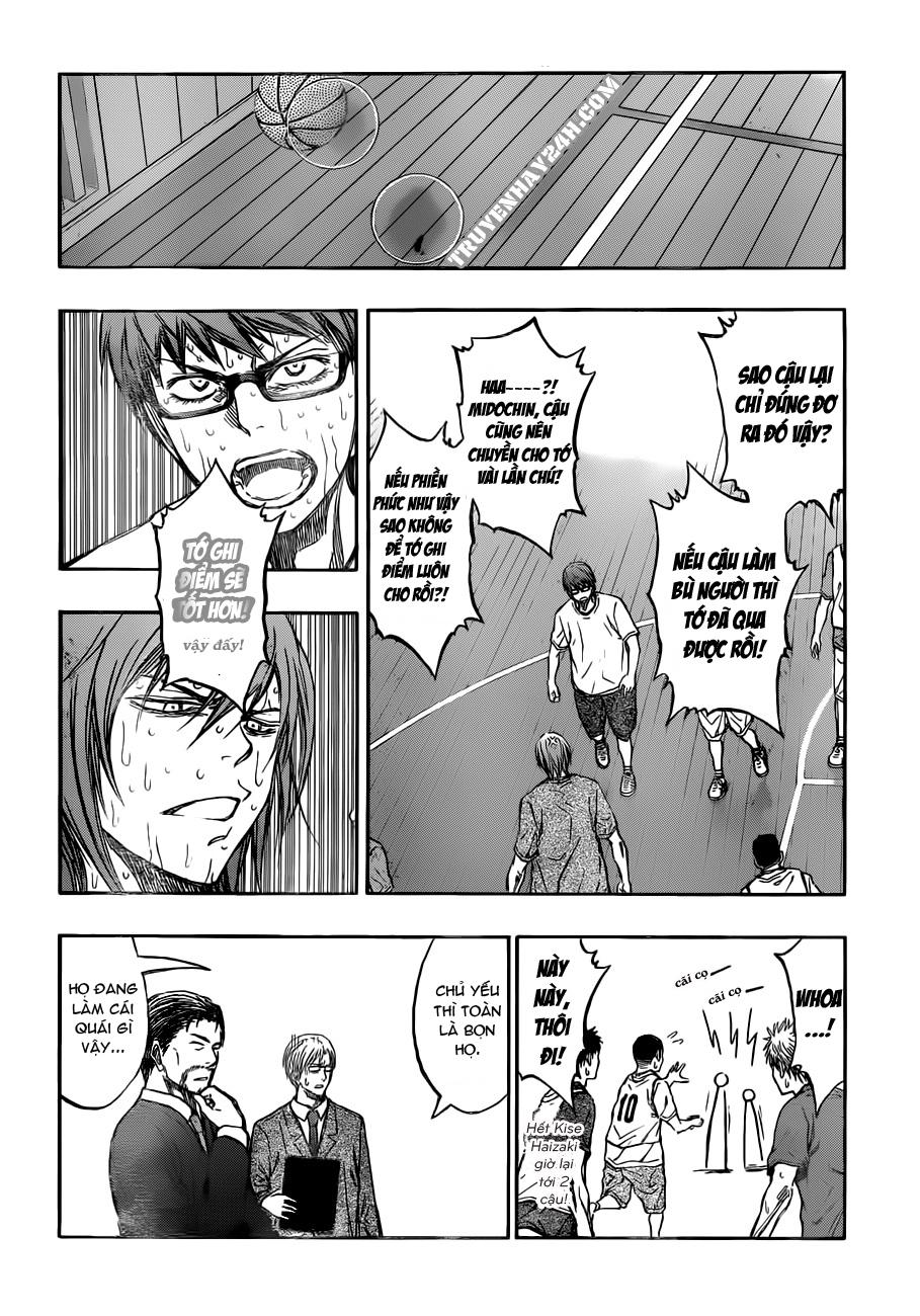 Kuroko No Basket chap 212 trang 12