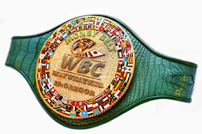 "WBC unveils the ""Money Belt""  for Mayweather vs McGregor Match"