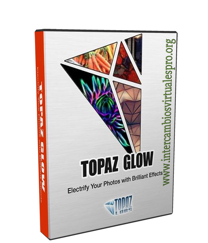 Topaz Glow 2.0 poster box cover