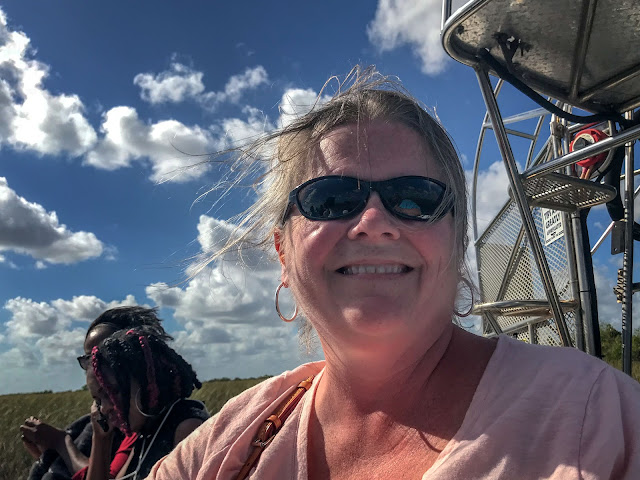 Peg on an airboat