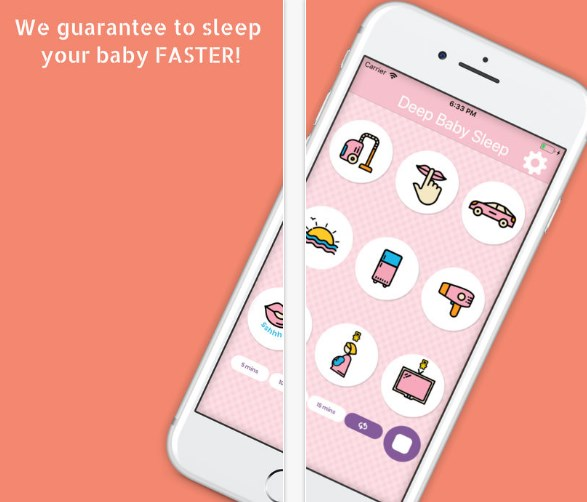 HIGHTECHHOLIC: App Review – Baby Sleep Sounds: White Noise