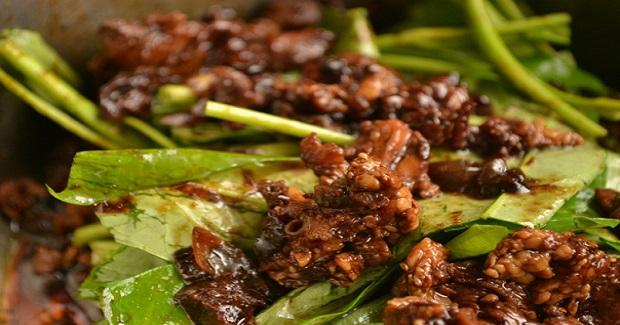 Pork And River Spinach (Kangkong) Recipe