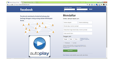 cara menonaktifkan Auto-Play Video Facebook pada Browser dan IPhone / hp Android
