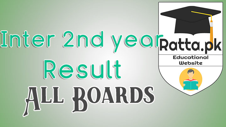 Inter Part 2(12th/2nd Year) Result 2017 All Boards