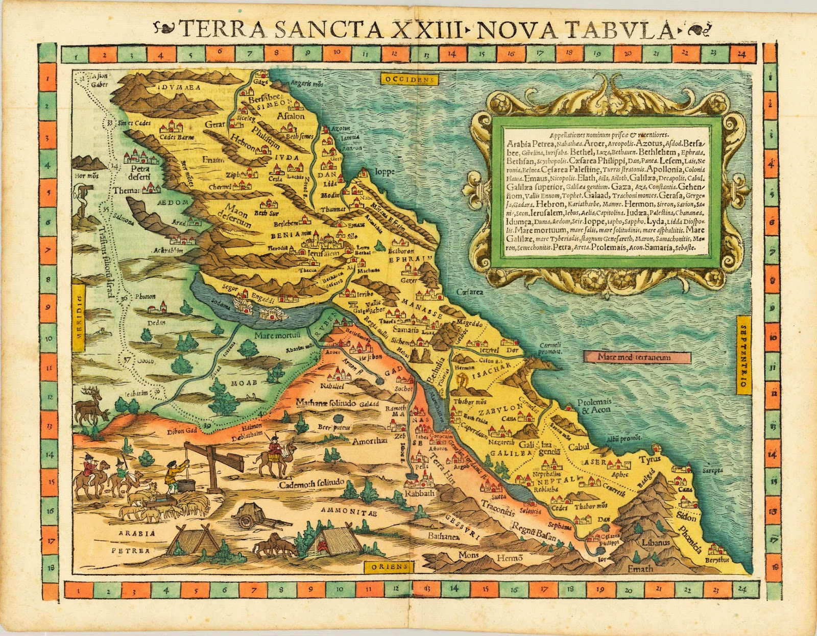 Maps: Ancient Maps Of Palestine / Maps Of Ancient Palestine
