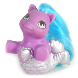 My Little Pony Baby Sea Shimmer Year Ten Fancy Mermaid Ponies G1 Pony