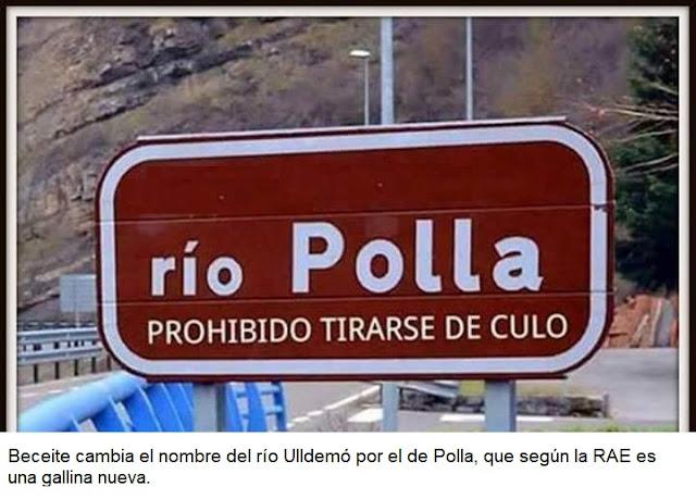 Beceite cambia nombre río Ulldemó, río Polla, prohibido tirarse de culo