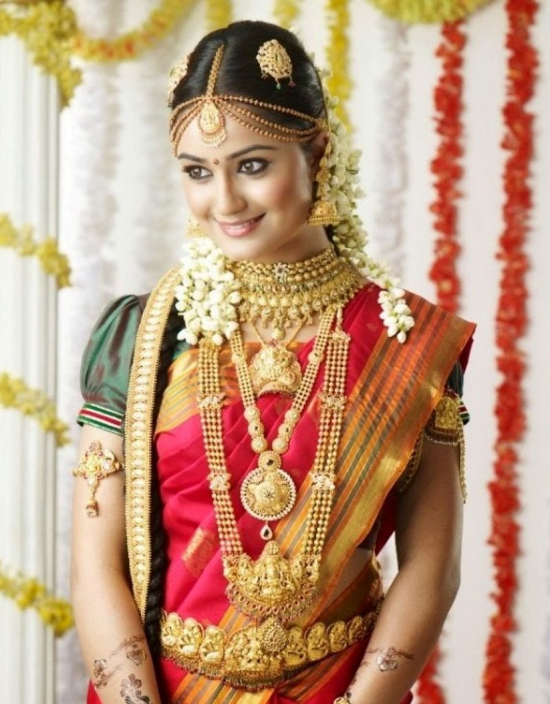 south indian bridal hair style (28 Photos) ~ Indian Wedding