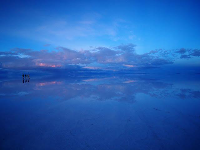 Sonnenuntergang, Salar de Uyuni