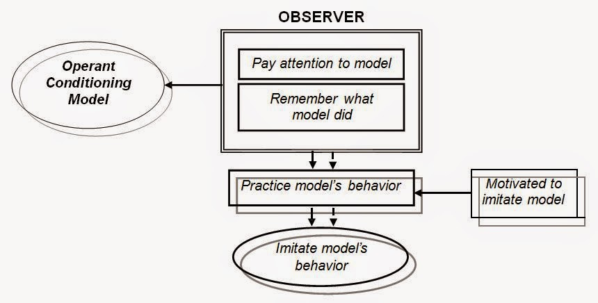 Model Operant conditioning (Operant Conditioning Model)
