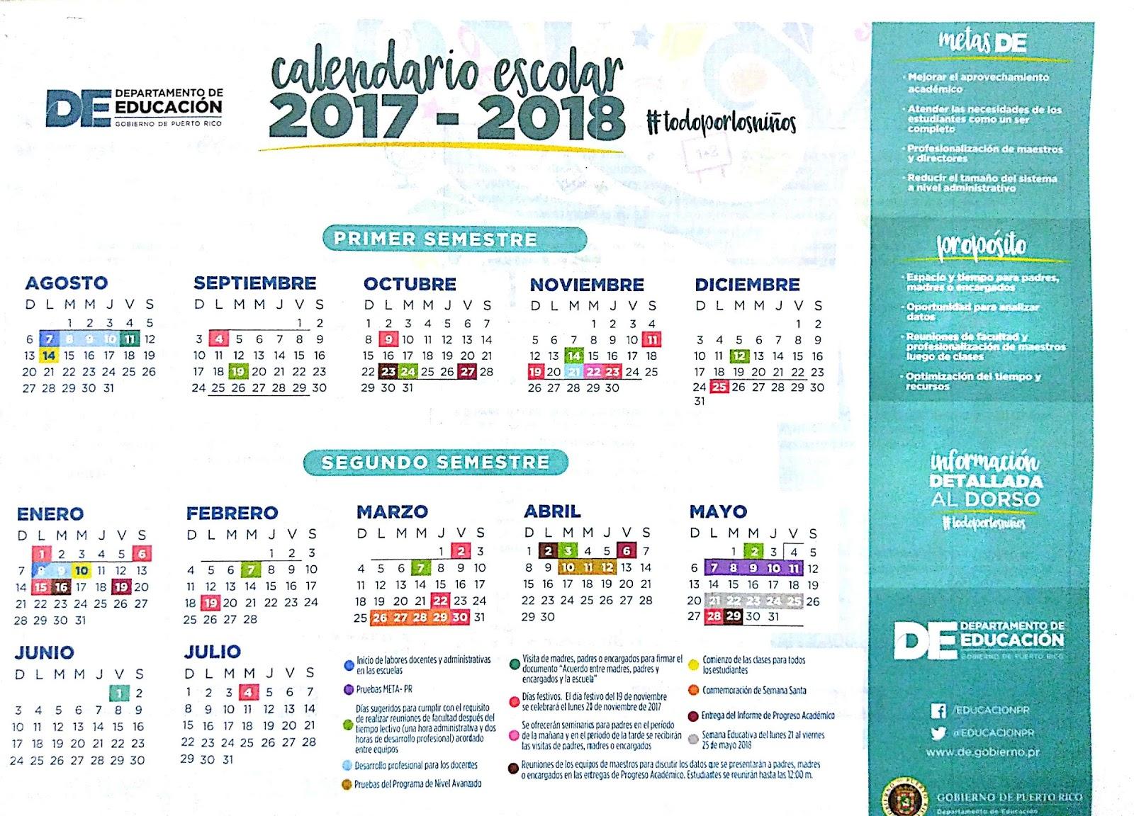 Esc Epifanio Fernández Vanga Biblioteca Escolar Calendario