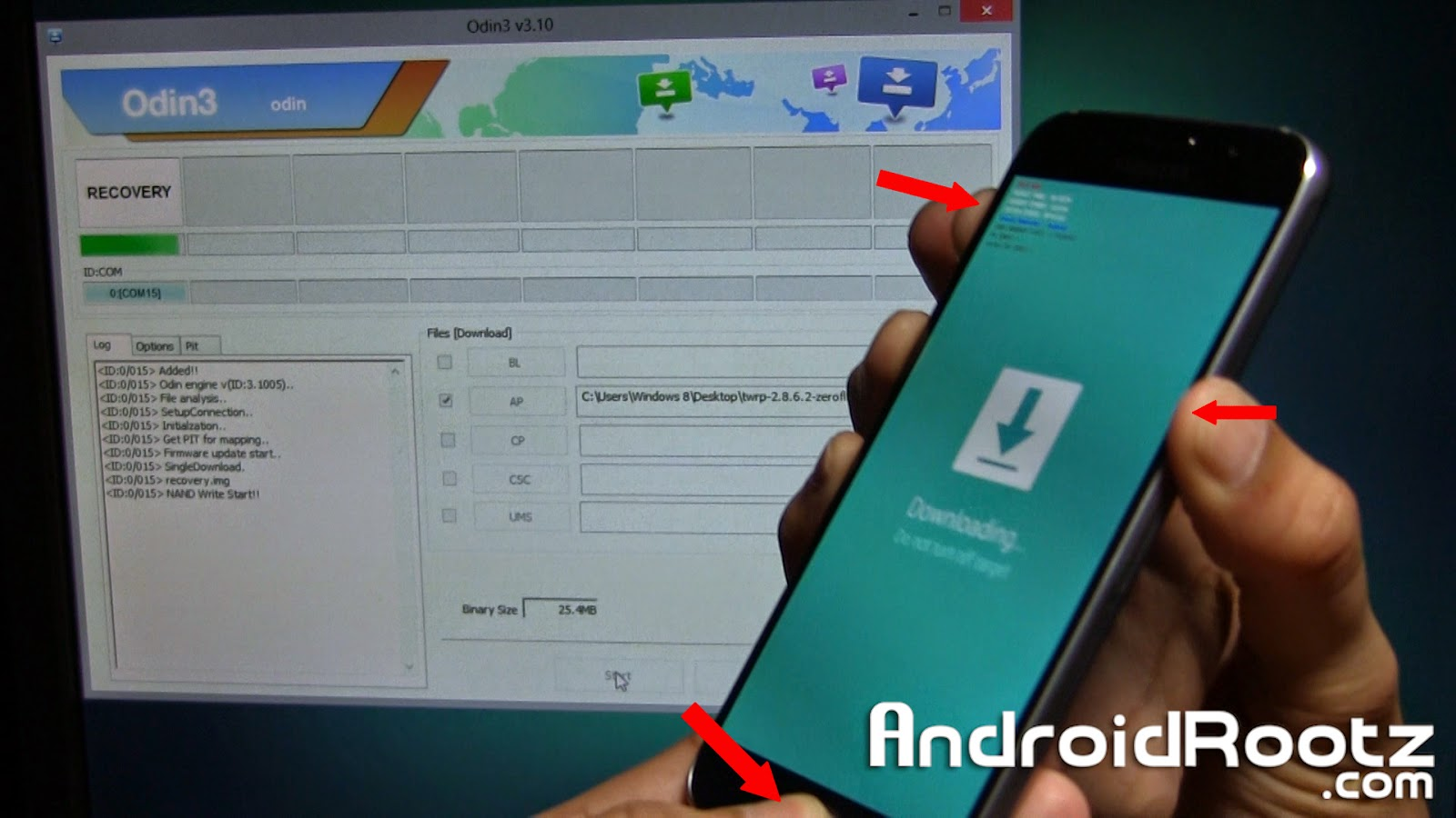 How to Root Galaxy S6 and Galaxy S6 Edge! [TWRP Recovery +