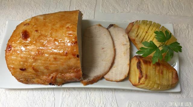 lomo-de-cerdo-con-almibar-de-naranja