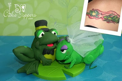 frog wedding cake toppers frog and cricket i do cake toppers 14499