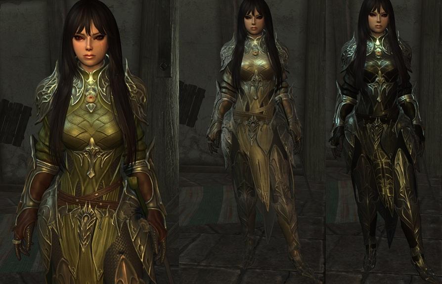 Elven Chainmail Armor [CBBE/UNP] ~ Eskyrim