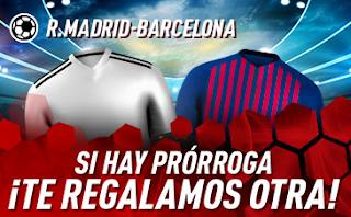 sportium promocion clasico copa Real Madrid vs Barcelona 27 febrero