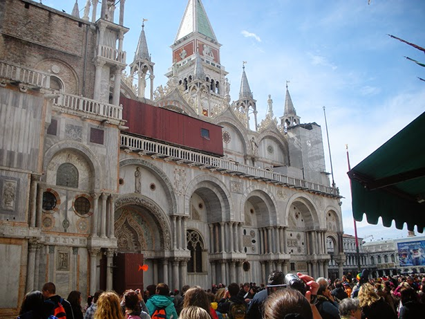 Easter mass in St. Mark's Basilica, Venice