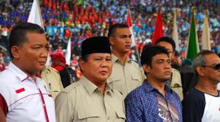 KSPI Dukung Prabowo Subianto Nyapres 2019