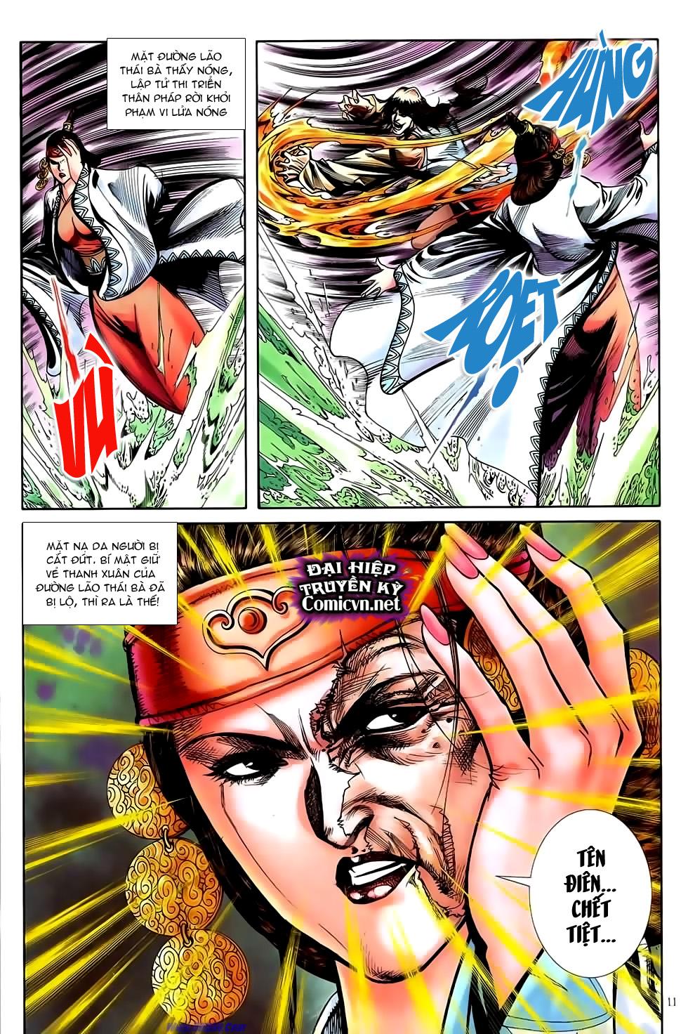 Đại Hiệp Truyền Kỳ (Thần Châu Hậu Truyện) chap 51 - Trang 10