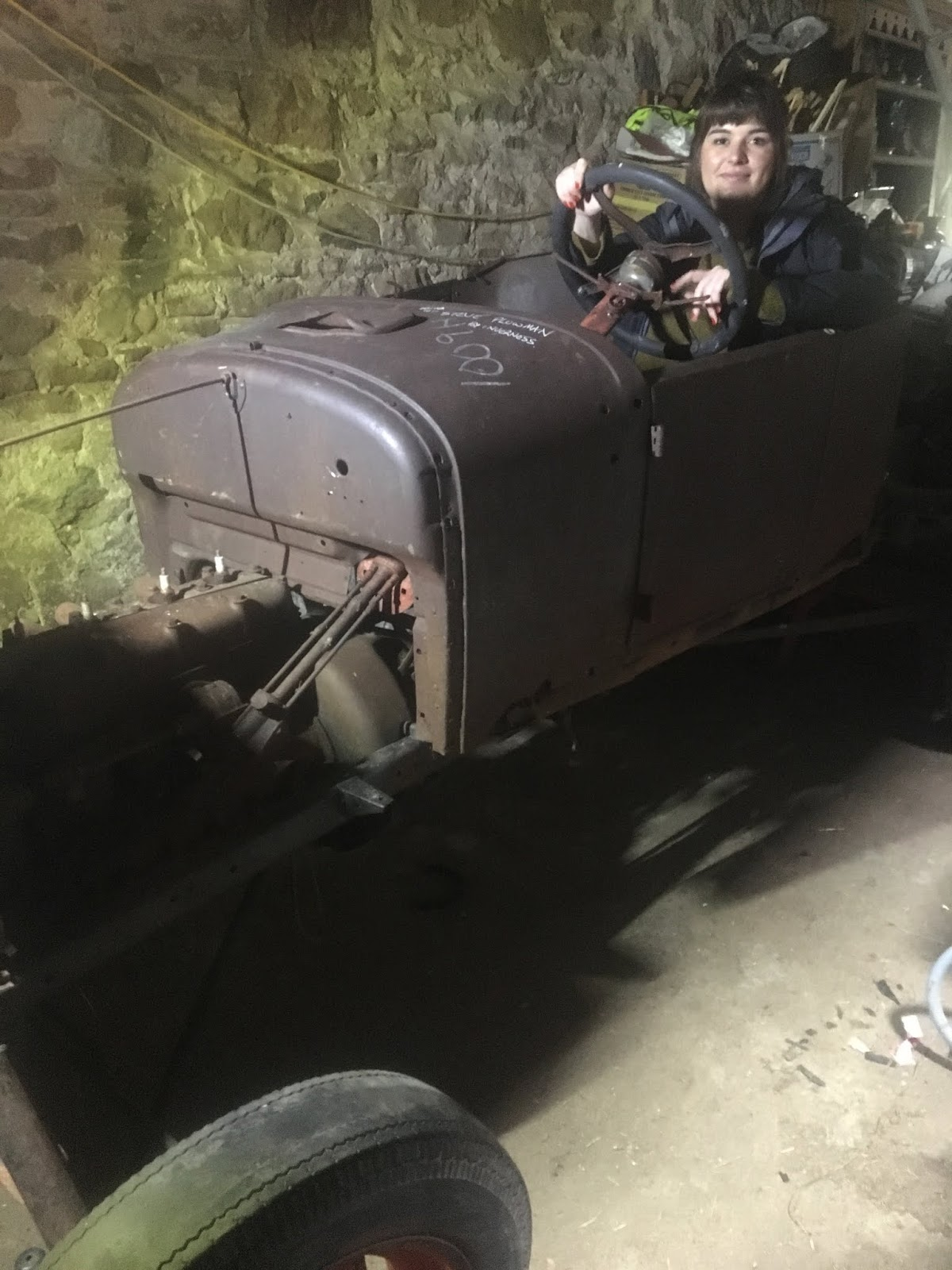 1926 Model T Ford Speedster Since The Is So Similar To Original Pig N Racer Had A Cut Down Steering Shaft And Control Rods After Pulling It Replacement Column Apart Doing Lot Of