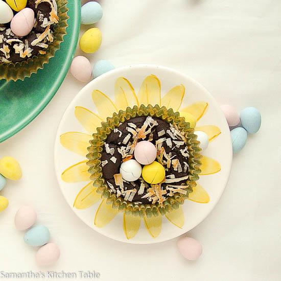 Black Bean Brownie Cupcakes