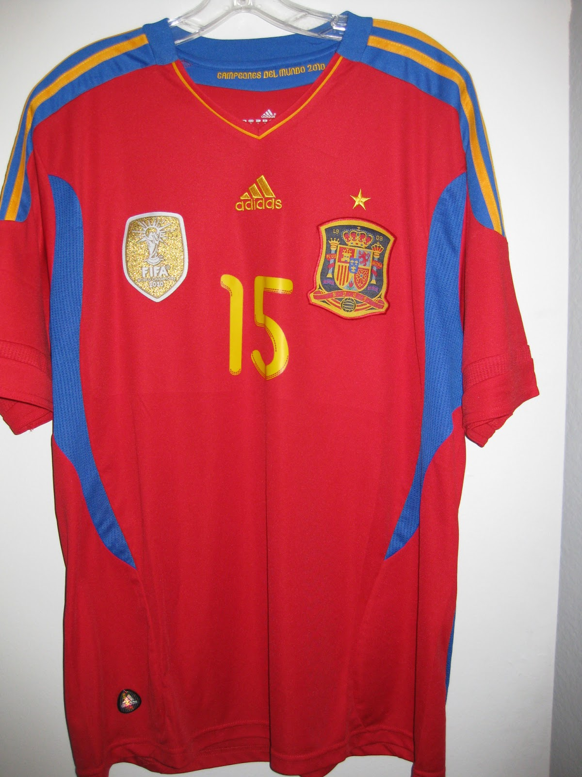 new arrival 12c8b cc25d Chris's Soccer Jersey Collection: 2011-12 Sergio Ramos Spain ...