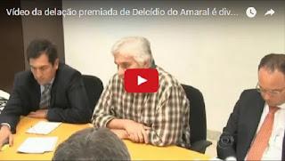 Vídeo da delação premiada de Delcídio do Amaral é divulgado