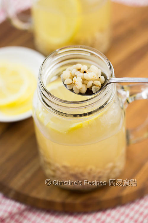 檸檬薏米水 Lemon Job's Tears Drink02