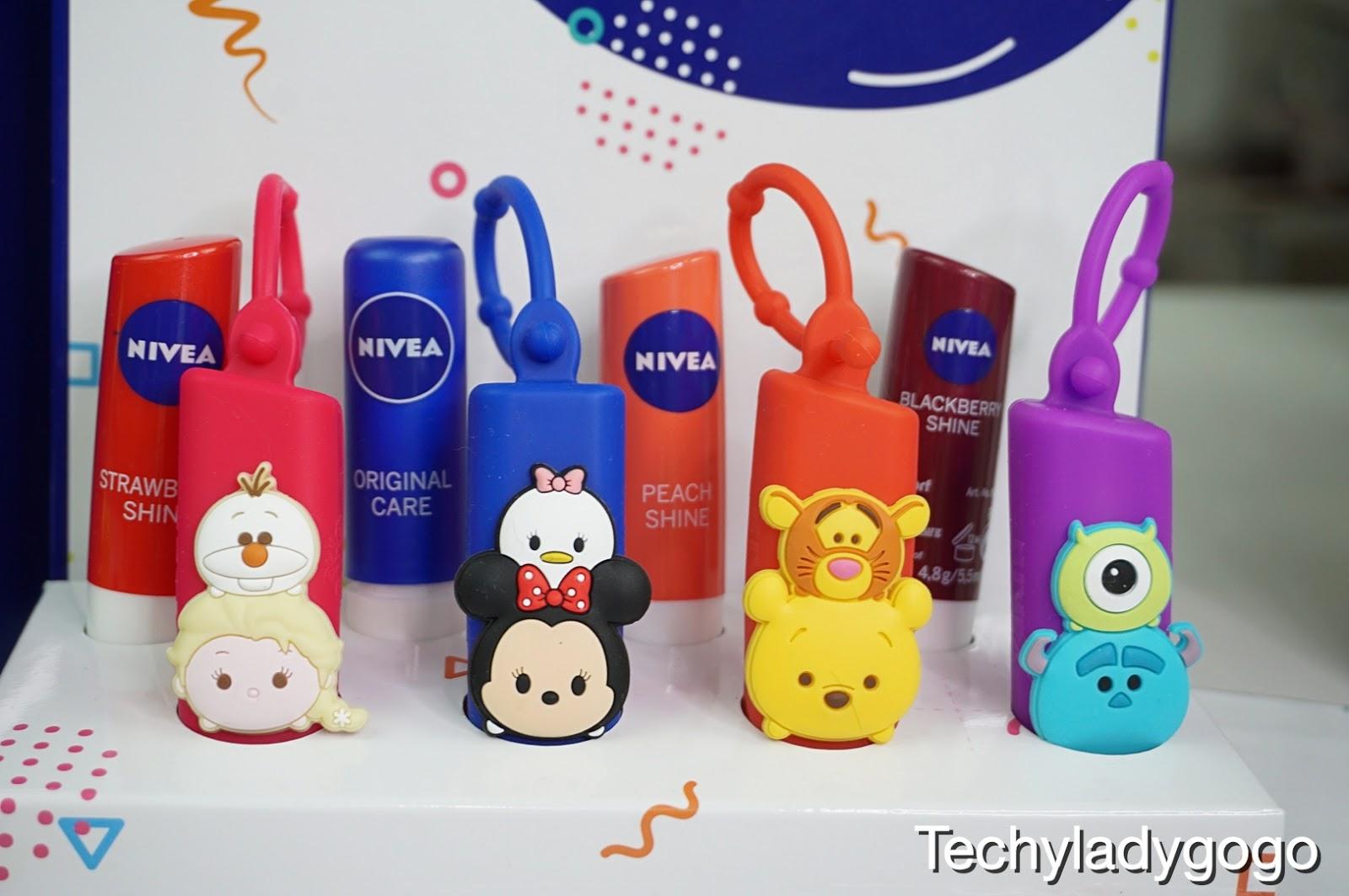 สาวก Disney Tsum Tsum ต้องกรี๊ดกับ NIVEA Tsum Tsum Lip Holder  ลิมิเต็ด อิดิชั่น ปลอกใส่ลิปสุดคิ้วท์จากนีเวีย